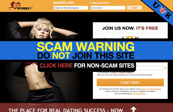 online dating scams naughty